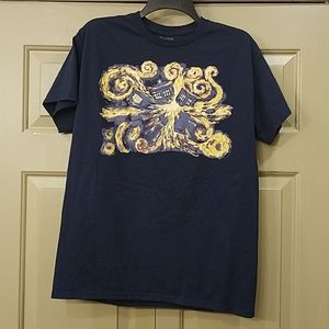 Doctor Who navy blue t shirt